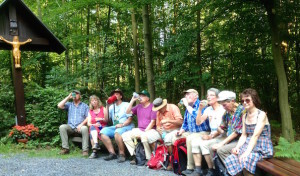 SGV Arnsberg: 10 Wanderer auf abendlicher Entspannungstour bei über 30 Grad