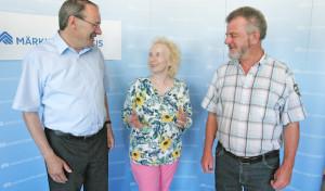 Gudrun Gerhardt stellt sich beim Landrat vor