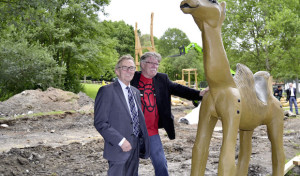 Baubeginn für industriekulturellen Spielplatz in Barendorf
