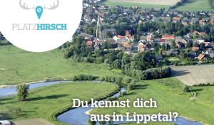 """Lippetal: Neue touristische App """"Platzhirsch"""""""