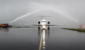 Der Siegerland-Flughafen begrüßt das neueste Mitglied der avantiair-Flotte