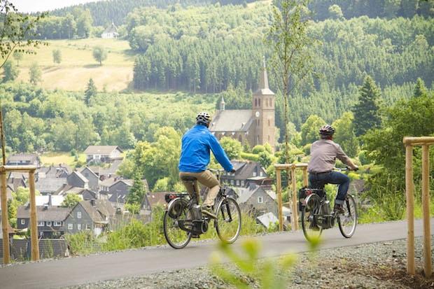 Photo of Winterberg als Knotenpunkt großer Radwanderwege
