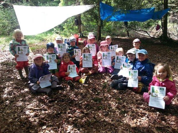 Photo of Germinghauser Kindergartenkinder machen das Wald-Jolinchen