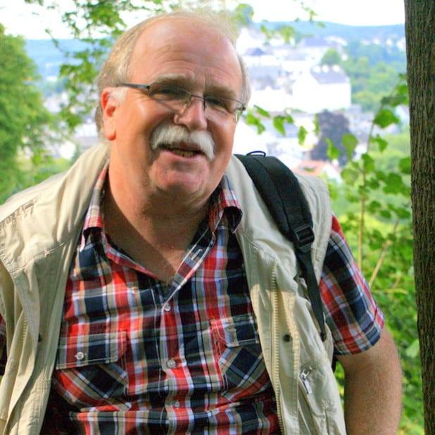 SGV-Wanderführer Karl-Heinz Schuster (Foto: Klaus Peters)