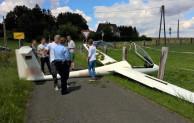 Menden: Segelflieger-Notlandung in Oesbern
