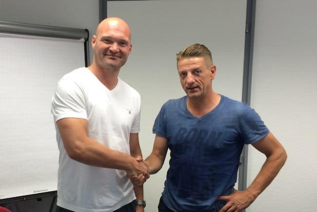 Alexander Voigt (links) und Ingo Haselbach (rechts) - Foto: Sportfreunde Siegen