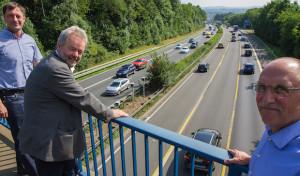 """""""Blitzer"""" auf der A45 in Betrieb"""
