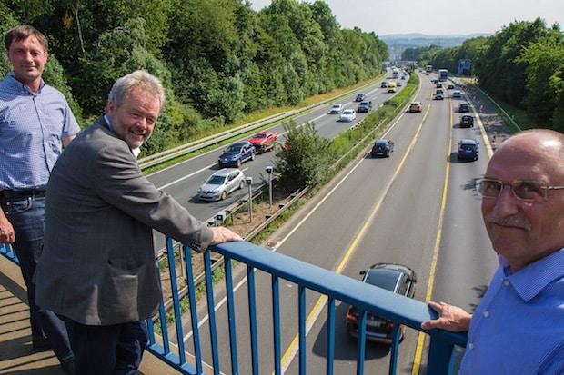 """Photo of """"Blitzer"""" auf der A45 in Betrieb"""