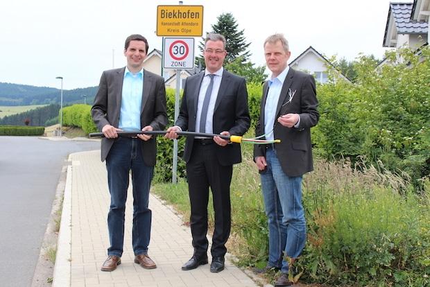 Photo of Biekhofen verfügt ab sofort über eine schnelle Datenautobahn