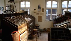 Historische Druckerei Schmidt lädt zur Ausstellung ein