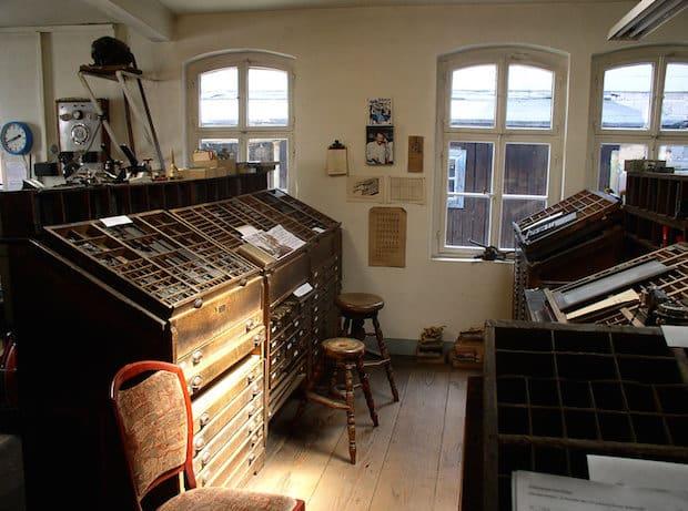 Photo of Historische Druckerei Schmidt lädt zur Ausstellung ein