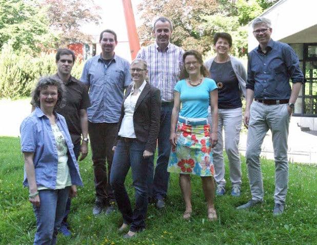 Das Projektteam - Foto: Pressestelle Märkischer Kreis