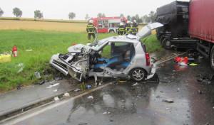 Tödlicher Verkehrsunfall in Drüpplingsen