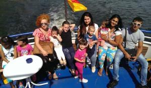 Familienzentrum Loxbaum organisierte Ausflug für Flüchtlingsfamilien