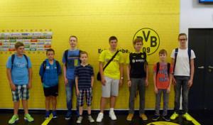 Städtischer Kinder und Jugendtreff Heide-Hombruch besuchte den BVB