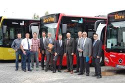<b>ÖPNV: Sieben neue Busse für die VWS</b>