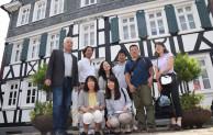 Mitarbeiter von japanischen Reiseveranstaltern in Freudenberg