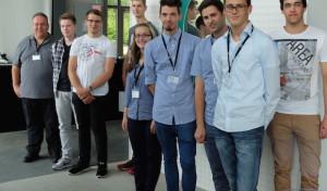 Acht neue Auszubildende bei Dornbracht