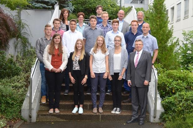 Photo of EMG Automation GmbH: Begrüßungstag der neuen Azubis