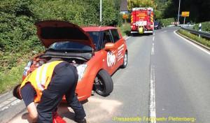 Traggelenk an PKW während voller Fahrt  gebrochen