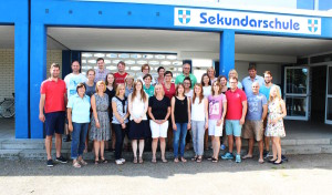 Neue Lehrerinnen und Lehrer an der Sekundarschule