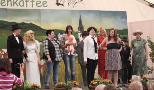 Theater, Tanz und Klatsch wieder beim Dräulzer Landfrauenkaffee