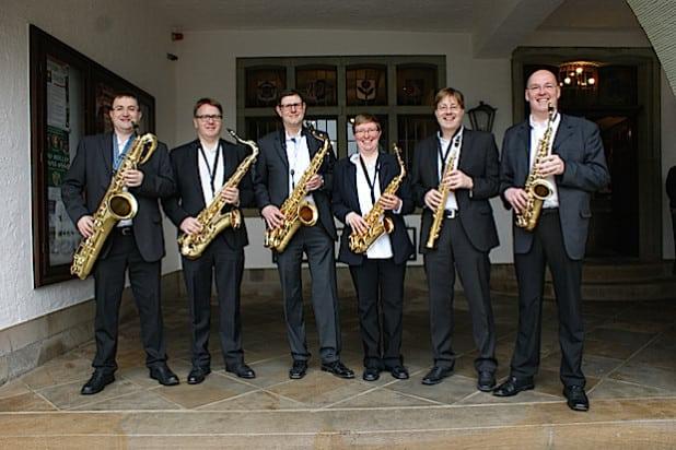 Das Saxophon-Sextett - Foto: Brilon Kultour/Brilon Wirtschaft und Tourismus GmbH