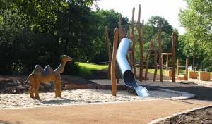 Neuer industriekultureller Spielplatz in Barendorf wird offiziell eröffnet