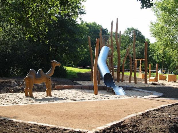 Photo of Neuer industriekultureller Spielplatz in Barendorf wird offiziell eröffnet