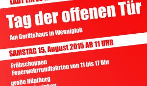 Tag der offenen Tür der Löschgruppe Arnsberg