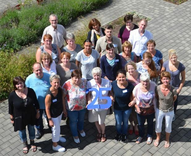 Das Team des Martin-Luther-Haus freut sich auf die Jubiläumsfeier. - Quelle: Diakonie Mark-Ruhr gemeinnützige GmbH