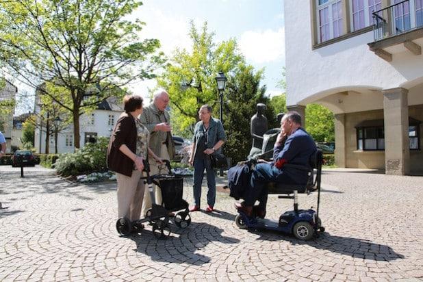 Die Hansestadt Attendorn bietet in Zusammenarbeit mit dem Sanitätshaus Fritzsch am 5. September erstmals eine barrierefreie Stadtführung an (Foto: Hansestadt Attendorn).
