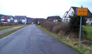 """Verkehrsbehinderungen durch Baustelle """"Im Schwalbenohl"""""""