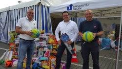 <b>Industrie- und Handelsclub spenden Spielzeug für Flüchtlingskinder</b>