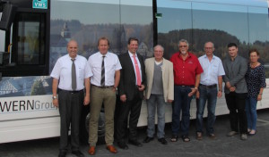 Politiker mit VWS-Geschäftsleitung im Gespräch