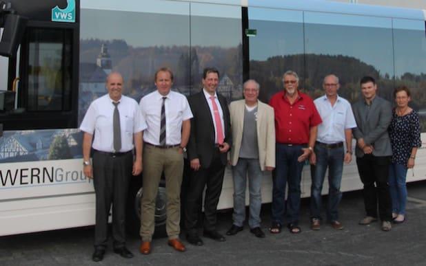 vl: Gerhard Bettermann, Werner Rosenthal, Stephan Degen, Thomas Förderer, Klaus-Dieter Wern, Meinolf Schmidt, Jörg Mühlhaus, Angelika Rosenow - Quelle: VWS Siegen