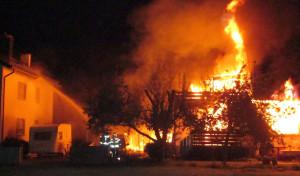 Wohnhaus in Wickede abgebrannt