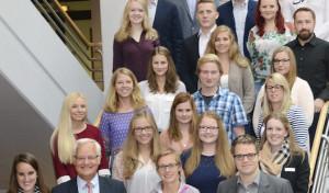 18 neue Auszubildende im Kreishaus Soest