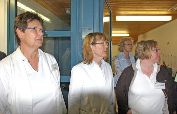 Die Ärztinnen und Helferinnen des Kreises untersuchten die Flüchtlinge (Foto: Ursula Erkens/Märkischer Kreis)