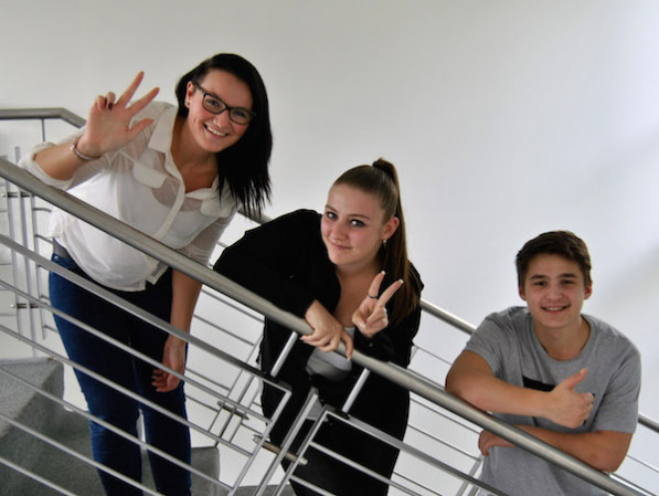 Ann-Christin Haselbach, Despina Tagkalidou und Efrem Lemonis (Foto: ARKM).