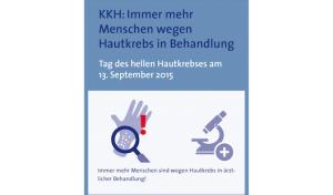 KKH: Immer mehr Menschen wegen Hautkrebs in Behandlung