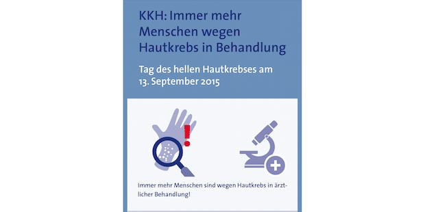 Photo of KKH: Immer mehr Menschen wegen Hautkrebs in Behandlung