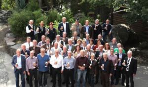 Betriebsjubiläum: Krombacher Brauerei gratuliert 56 Mitarbeitern