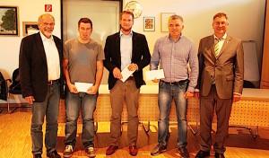 Jugendförderpreis an gleich drei Vereine verliehen
