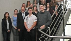 Landrat begrüßt 18 neue Auszubildende bei der Kreisverwaltung
