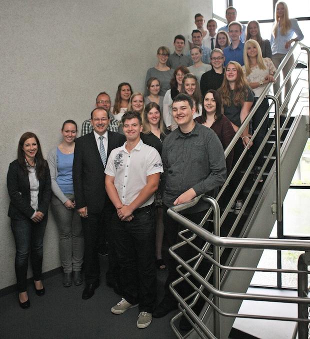 Photo of Landrat begrüßt 18 neue Auszubildende bei der Kreisverwaltung