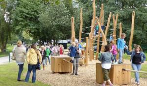 Industriekultureller Spielplatz im Iserlohner Barendorf offiziell eröffnet