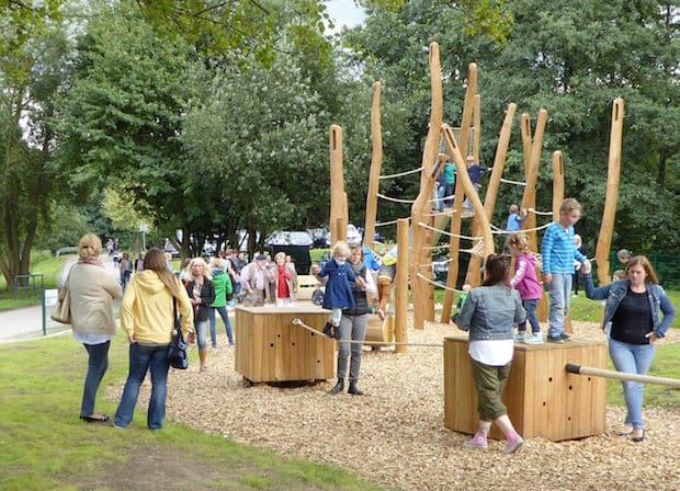 Photo of Industriekultureller Spielplatz im Iserlohner Barendorf offiziell eröffnet