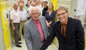 Stadtwerke Werl nehmen nach 2 Jahren Bauzeit Umspannwerk in Betrieb