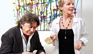 """Herbert Herrmann und Nora von Collande kommen """"Anderthalb Stunden zu spät"""""""